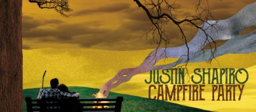 """""""Campfire Party"""" de Justin Shapiro, Mayo de 2018."""