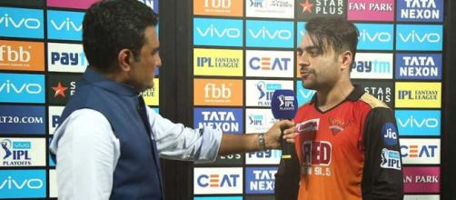 IPL 2018: Rashid Khan Dedicates Man Of The Match Award ...(Image IPL2018/Twitter)