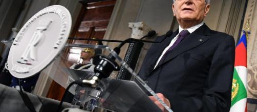 L'actuel président Italien Sergio Mattarella