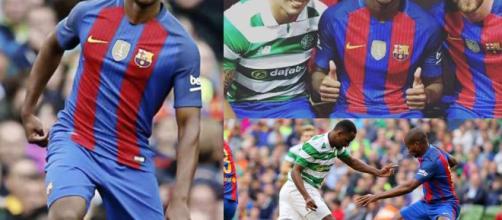 Marlon Santos podría salir del Barcelona este verano.