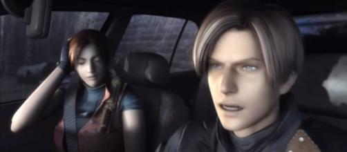 Resident Evil 2 HD Remake сutscenes [Image Credit: DJ Dimmer/YouTube screencap]