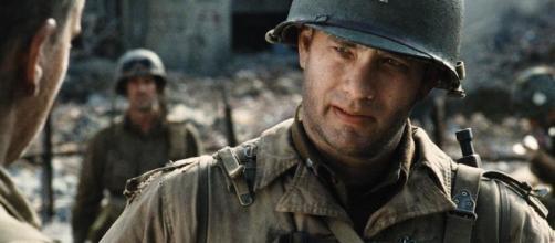 Tom Hanks es fenomenal en el clásico de WW2 de Steven Spielberg.