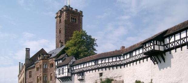 El Wartburg, uno de los lugares más famosos de Turingia