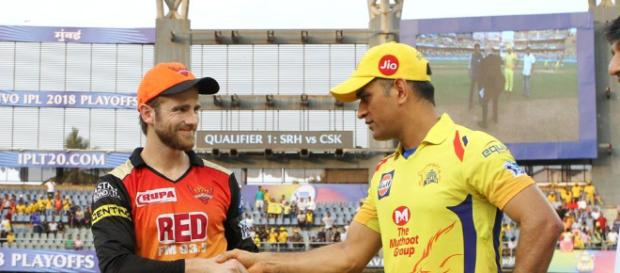 MS Dhoni vs Kane Williamson in IPL 2018 finals.. - (Image Credit: IPL2018/Twitter)