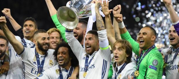 Real Madrid Beat Liverpool to win third successive Champions ... [Image Credit: naija247news/Youtube]