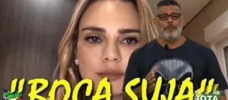 Frota detona Sheherazade em vídeo. (foto reprodução).
