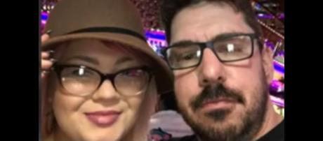 MTV reality star Amber Portwood and boyfriend Andrew Glennon. [Image from Channel News / YouTube.]