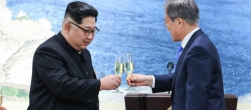 Corea del norte firmo la paz con Corea del sur