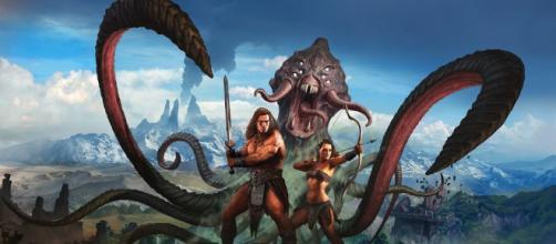 """El video juego """"Conan Exiles"""" tiene escenas de terror."""