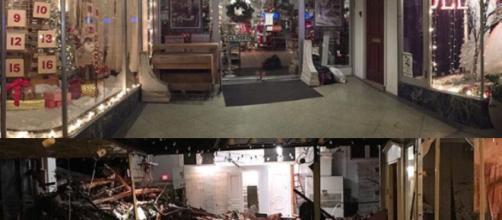 Ellicott City, before and after [Image source - Flickr - Forsaken Fotos]