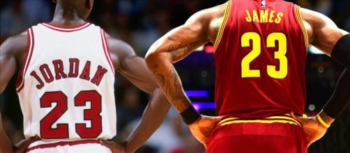 How Michael Jordan And LeBron James Compare | Fadeaway World - fadeawayworld.com
