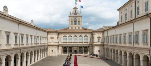 Il Quirinale, sede della Presidenza della Repubblica