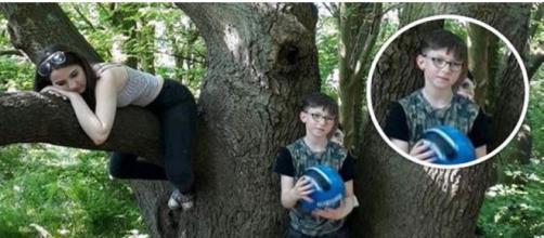 Inglesa afirma fotografar espírito próximo ao filho (Laura Watson)