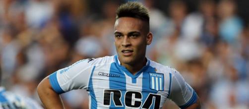 L'argentino Lautaro Martinez, nuovo attaccante dell'Inter