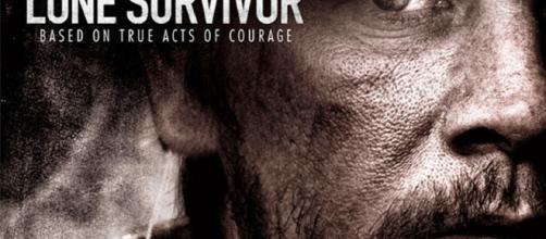 Lone survivor, póster oficial de la película.