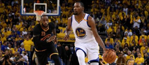 NBA : Golden State mène 2-0 en finale contre Cleveland - Le Parisien - leparisien.fr