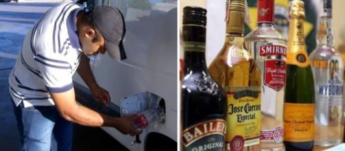 O morador de Tocantins colocou álcool doméstico no tanque do carro para conseguir chegar até o posto mais próximo