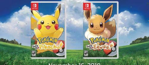 Pokemon Let's Go Pikachu y Eevee.