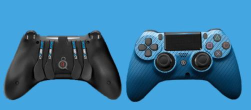SCUF IMPACT Carbon Fiber Blue Controller for Sony Playstation 4 ... - ebay.com