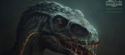This Jurassic World: Imagen del Indoraptor