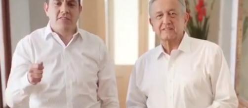 """Vamos a ganar por goliza"""": AMLO y Cuauhtémoc Blanco - reporteniveluno.mx"""