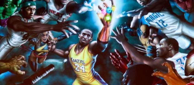 Fan-Art se imagina a Lebron James con Infinity Gauntlet después de que Cavs gane