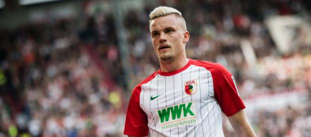 Philipp Max serait la priorité de Thomas Tuchel pour renforcer le secteur défensif du club (Photo via Bundesliga.com - 2018)