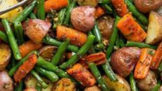 Deliciosa y saludable patatas con hierbas