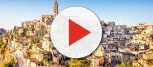 Spettacolare vista di Matera, la città dei sassi