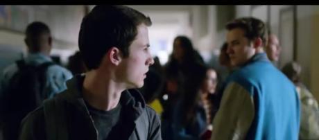Dylan Minette from '13 Reasons Why' Season 2. - [Netflix / YouTube screencap]