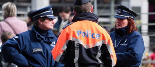 A meeting of Belgian police officers (Image via Matthew Kenwrick - Flickr)