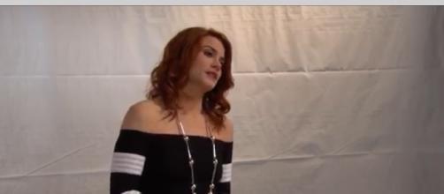 Courtney Hope is returning to 'B&B.' (Image via CBS/YouTube screenshot).