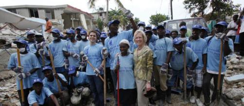 Kathy Calvin, CEO de la Fundación de las Naciones Unidas en Haití.