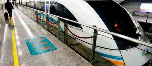 Maglev de Shanghai: el tren mas rapido del mundo.