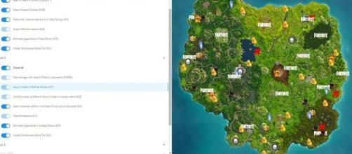 Mapa 'Fortnite: Battle Royale'