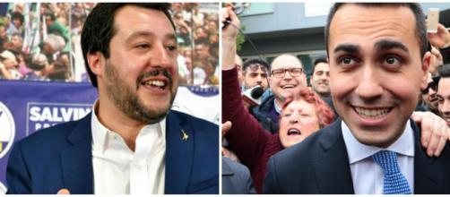 Matteo Salvini batte Luigi Di Maio su Facebook.