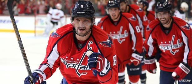 Alexander Ovechkin leads the Caps into the NHL Finals. - [Image via NHL / YouTube screencap]