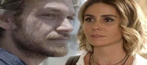 Luzia e Beto Falcão se reencontrarão (Foto: Divulgação TV Globo)