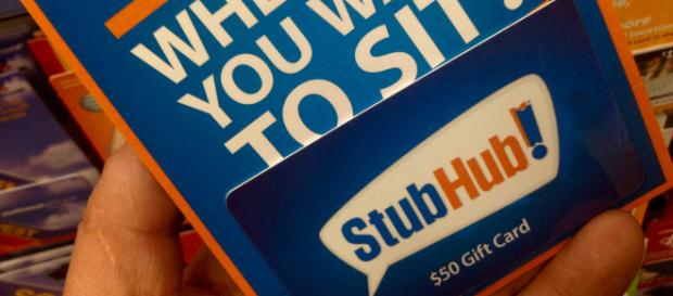 StubHub giftcard. - [Image Credit: Mike Mozart / Flickr]
