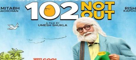 '102 Not Out' to be released on May 4, 2018 (Image via Amitabh Bachchan/Twitter)