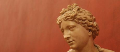 """""""Afrodite scolpita da Doidalsas nel I sec d.C. (Foto - twitter.com)"""