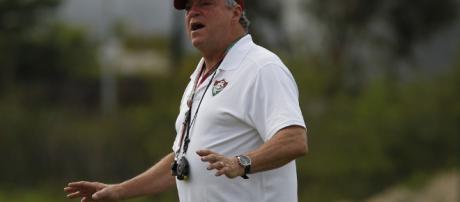 Abel Braga, técnico do Fluminense