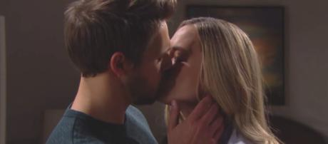 'Bold and the Beautiful' May sweeps wedding for Hope and Liam crashed by Steffy (via YouTube/CBS)
