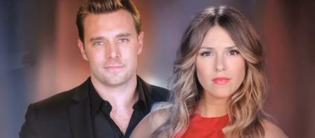 'GH' pairs former 'YR' scene partners Billy Miller and Elizabeth Hendrickson (via YouTube/The Young and the Restless)