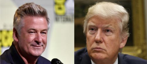 Alec Baldwin, Donald Trump, via Twitter