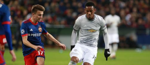 Anthony Martial in action with Manchester United [image source: stolbovsky - Wikimedia Commons]