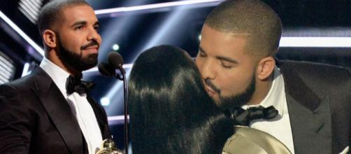 Drake ridiculed on Twitter after Rihanna 'curves' kiss after MTV ... - mirror.co.uk