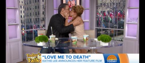 Kathie Lee Gifford reveals that Craig Ferguson will be her co-star in the 'Love Me to Death' movie. Screencap TODAY/YouTube