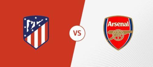 Liga Europa: Atlético de Madrid x Arsenal ao vivo. (foto reprodução).