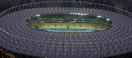 Lo stadio Nsc Olimpiyskiy di Kiev